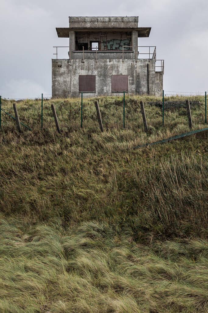 De Halve Maan, vestiges d'une batterie militaire allemande faisant partie du mur de l'Atlantique et situés sur les côtes d'Ostende en Belgique.