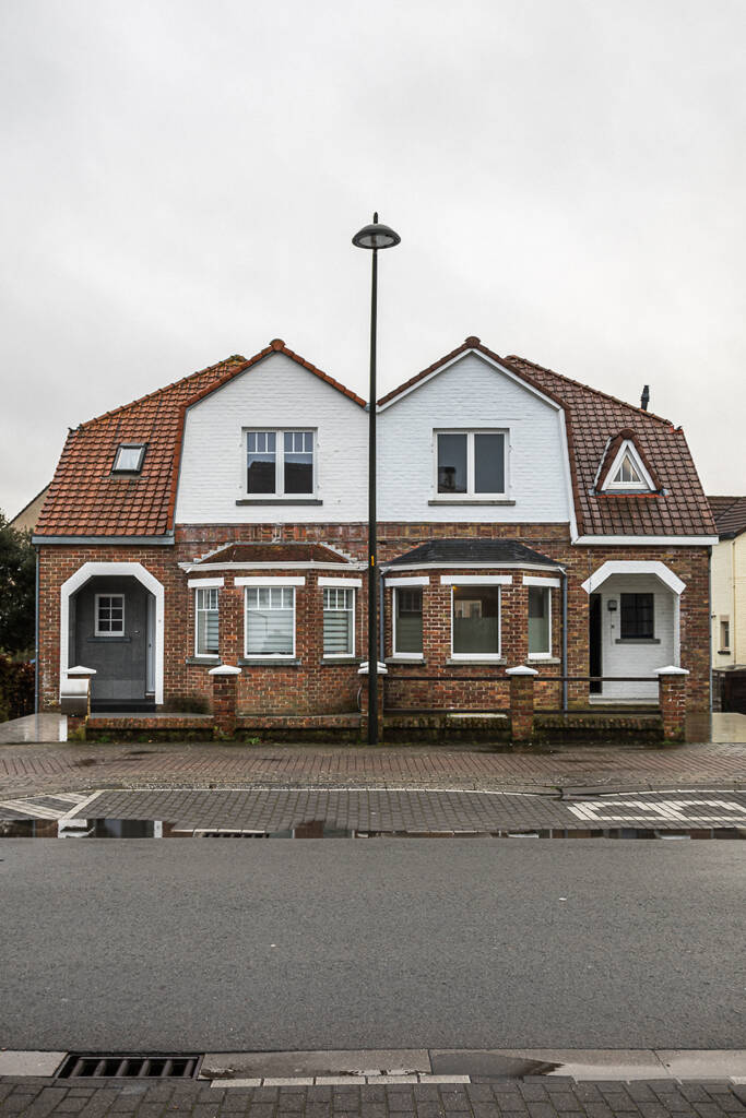 Maisons bourgeoises presque jummelles sur la Albert Blieklaan à Koksijde / Coxyde ...