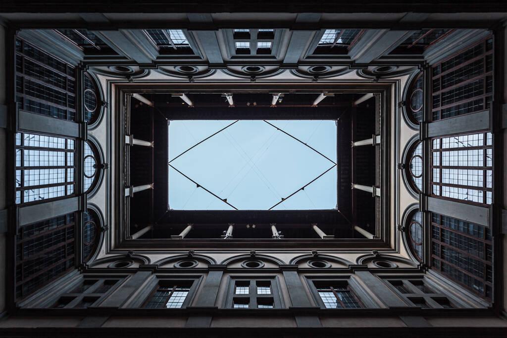 Cour intérieur du Palazzo Stozzi