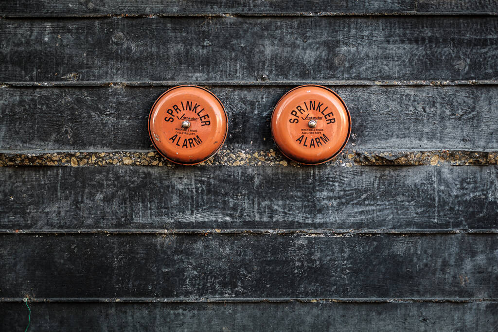 Sprinkler tits alarm - Rue Sigismon, Luxembourg-Bonnevoie, Luxembourg